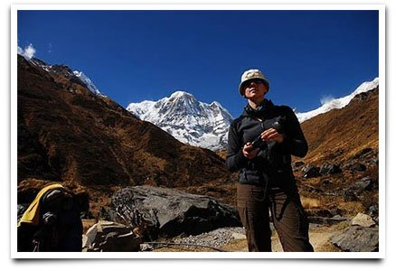 trekking holiday Nepal