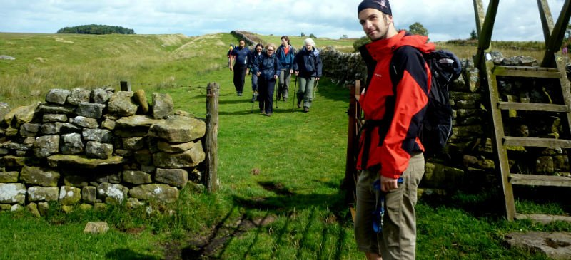 Hadrian's Wall Guided Walking