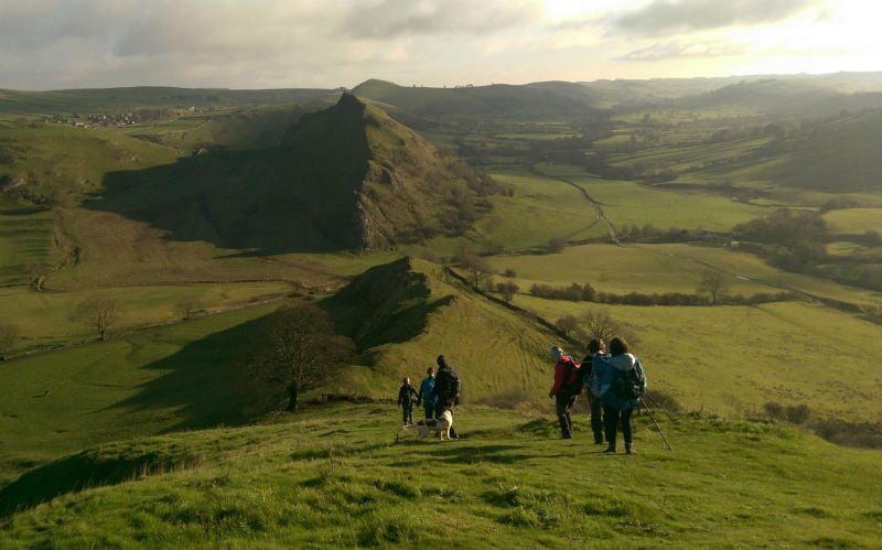 Chrome Hill and Parkhouse Hill Peak District