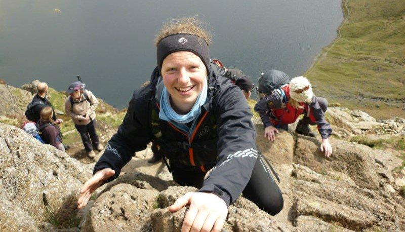 Lake District scrambling on Jack's Jake