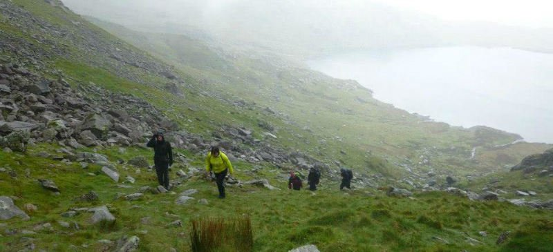 Image showing walkers in the Lake District