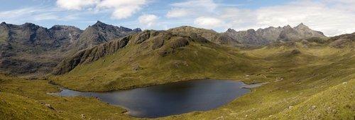 Image showing the Cuillin Ridge on the Isle of Skye