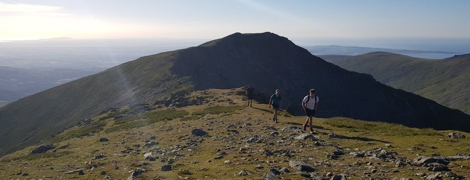 Image showing guided walk in Snowdonia