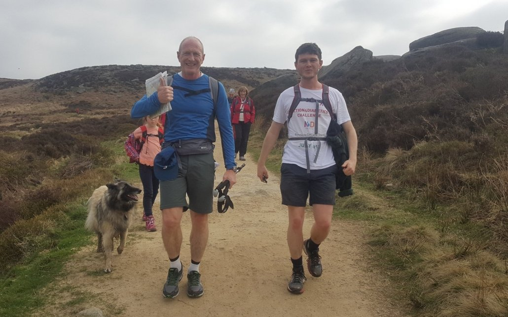Charity challenge event Peak District 2018