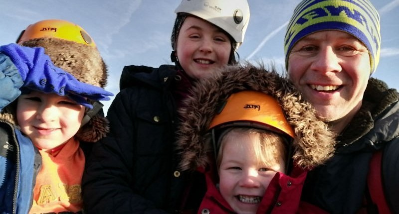 family adventure activity days in the Peak District