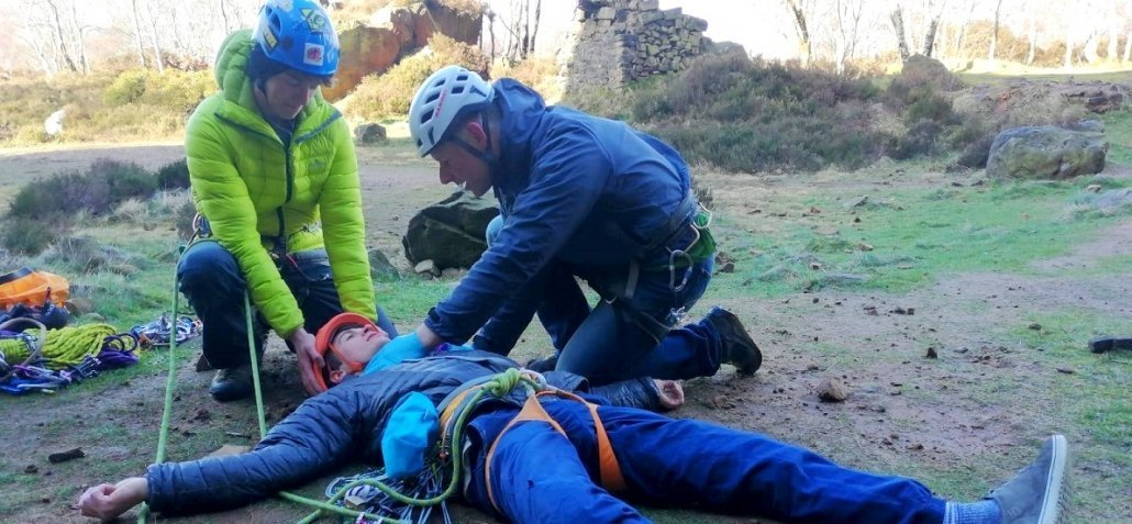 posed image for outdoor first aid