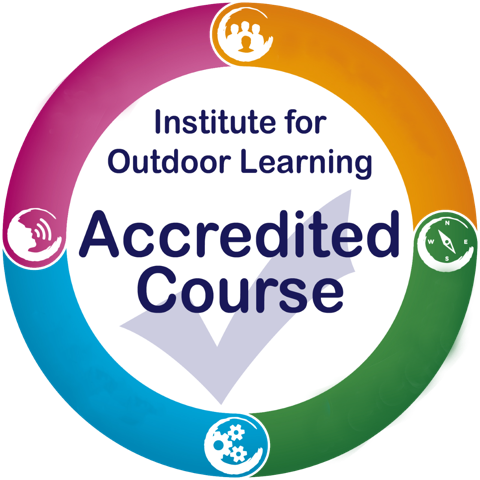 IOL logo showing that these outdoor first aid courses are recognised as level 4 courses