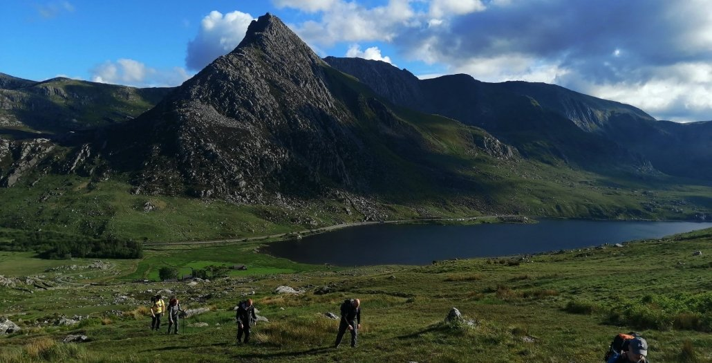 A view of Tryfan from the Carneddau